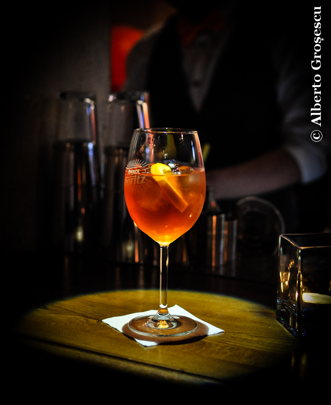 pahar aperol spritz